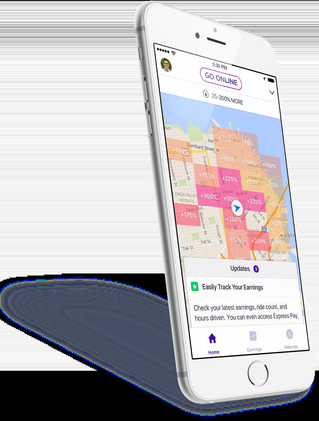 Lyft Driver App