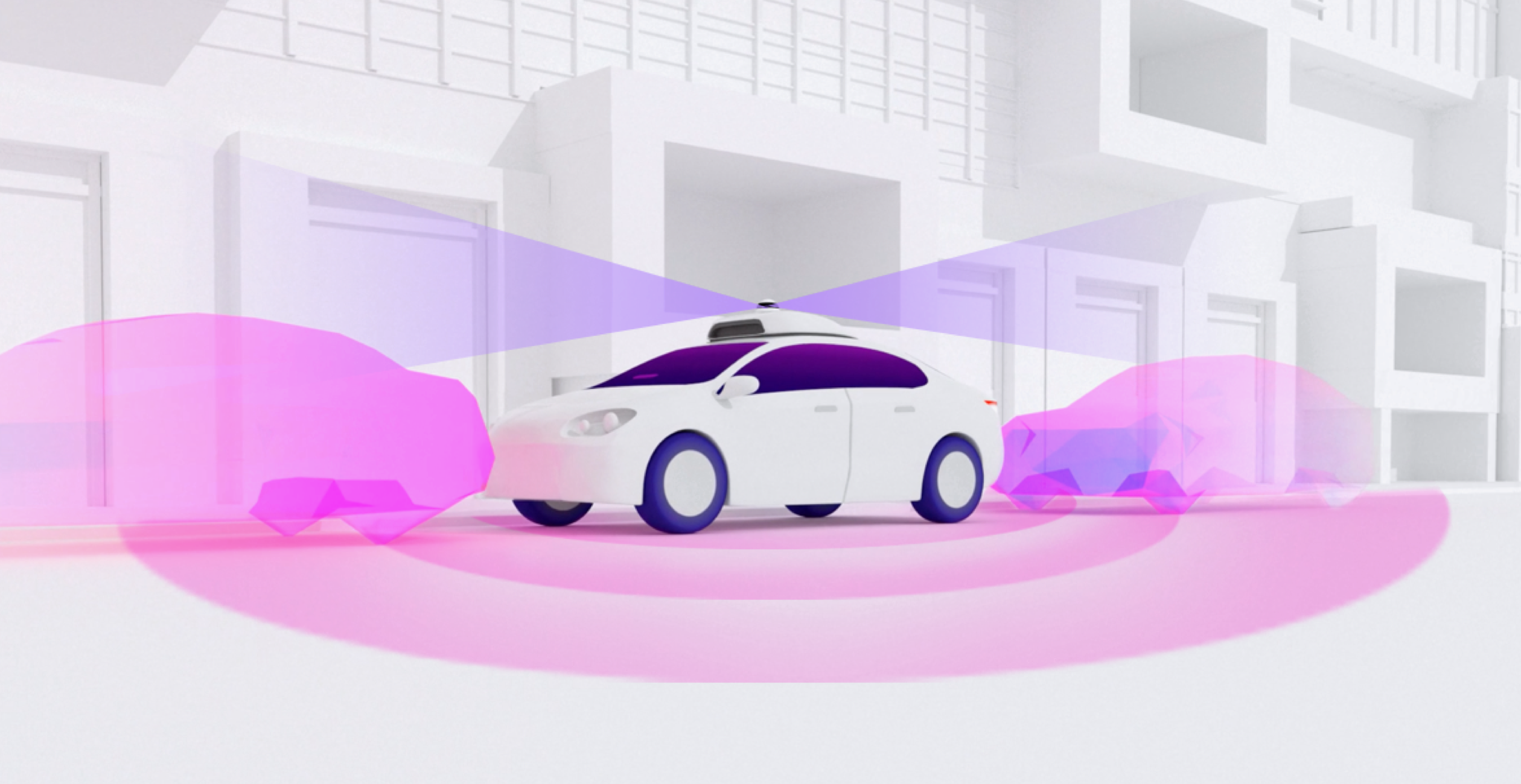 Self driving Lyft vehicle with camera 360 degree camera sensor